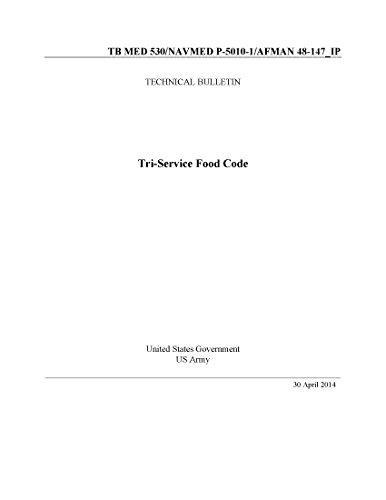 Technical Bulletin TB MED 530/NAVMED P-5010-1/AFMAN 48-147_IP Tri-Service Food Code April 2014 (English Edition)