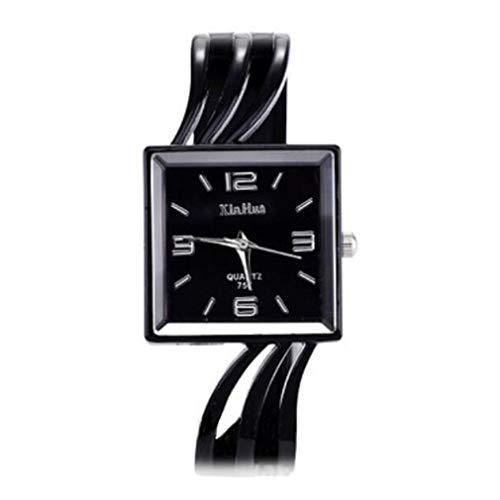 YMQMYZ Frauen-Kleid-Uhr-Art- und Katze Whiskers Armband Design einzigartige Uhr für Mädchen-Damen-Atmos weiblich