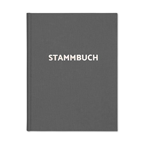 bigdaygraphix Stammbuch der Familie Familienstammbuch zur Hochzeit   Premium Cover mit Leinen &...