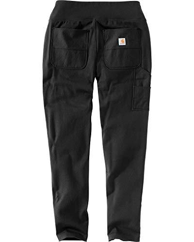 Carhartt Women's Force Stretch Utility Legging (Regular and Plus Sizes), Deep Black, Medium