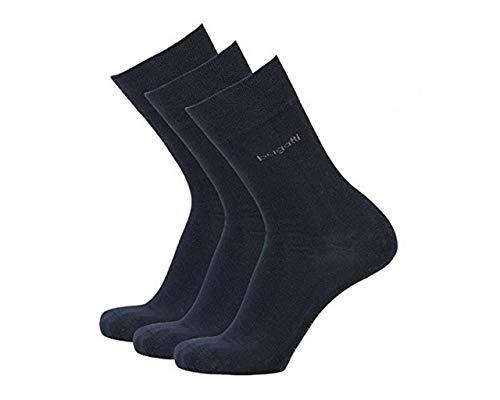 Bugatti Herren Socken 3er-Pack 6703 / Men Socks 3 Pack (43-46, 545 Dark Navy)