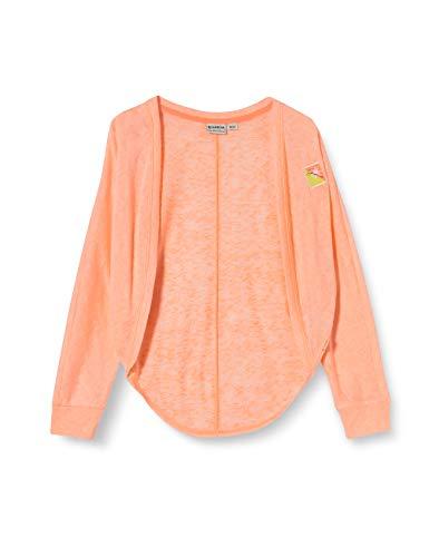 Garcia Kids Mädchen P04451 Strickjacke, Orange (Summer Orange 2849), (Herstellergröße: 104/110)