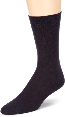 Hudson RELAX COTTON Herren Socken, Baumwollsocken Herren ohne Gummibund, Männersocken mit verstärkter Sohle (sportlich, viele Farben) Menge: 1 Paar, Blau (Nachtblau 0331), Gr. 43-44