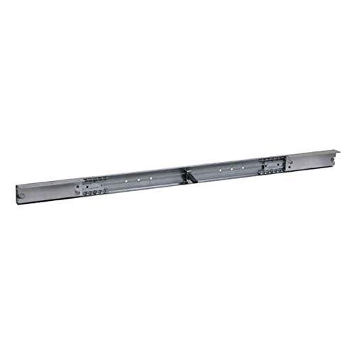 Coulisses de table à ouverture synchronisée - Longueur : 1350 mm - Ouverture : 1050 mm - Rallonge : 2 x 500 mm ou 1 x 1000 mm - POTTKER