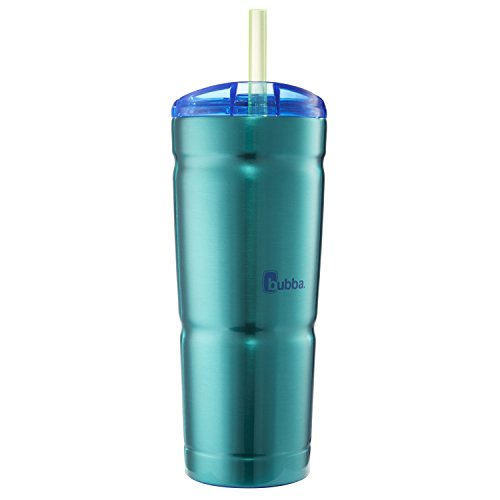 bubba Envy S VacuumInsulated Stainless Steel Tumbler with Straw 24 oz Island Teal