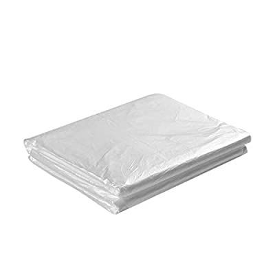 "77A Plastic Sheeting for Body Wrap Used Inside a Far Infrared Sauna Blanket 47""x82"" PVC Pack of 50"