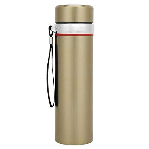Ventosa · Botella de agua aislada de 550ml con aislamiento de acero inoxidable de doble capa portátil con ventosa