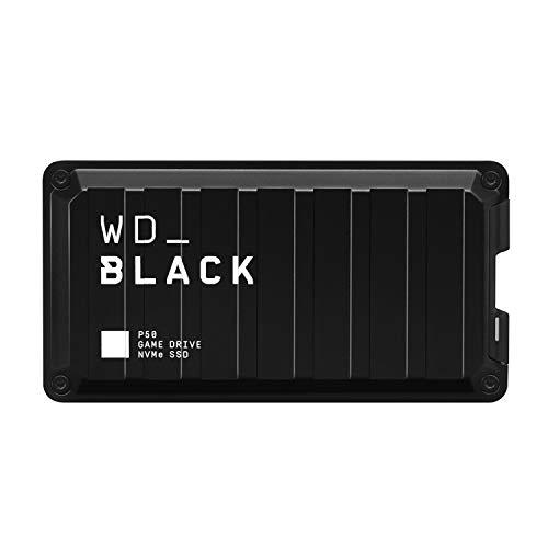 ウエスタンデジタル WD ポータブルSSD 1TB WD_Black P50 最大転送2000MB/秒 外付け / 5年保証 【PS4 PS5 / Xbox Oneメーカー動作確認済】WDBA3S0010BBK-WESN