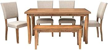 Best Master Furniture Mindy 6 Pcs Dining Set