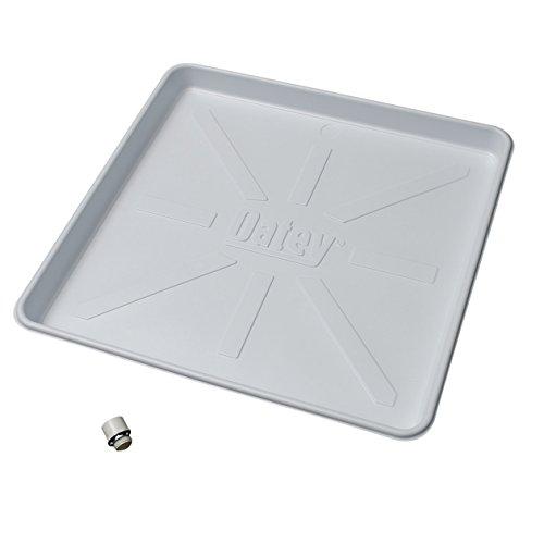 Oatey 34067 32X30 WASHING MACHINE PAN, 32-Inch x 30-Inch, White
