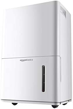 Amazon Basics Dehumidifier For Areas Up to 4 000 Square Feet 50 Pint Energy Star Certified product image