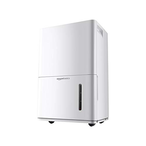 Amazon Basics Dehumidifier - For Areas Up to 1,000 Square Feet, 22-Pint, Energy Star Certified