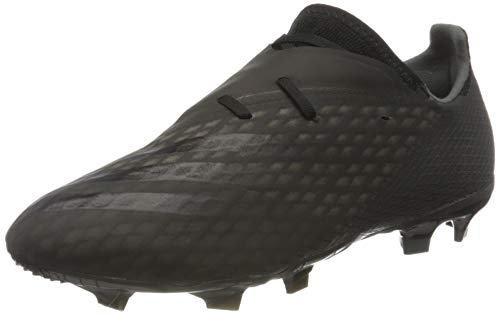 adidas X GHOSTED.2 FG, Scarpe da Calcio Uomo, Core Black/Core Black/Grey Six, 42 EU