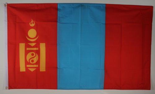 Fahne Flaggen MONGOLEI 150x90cm
