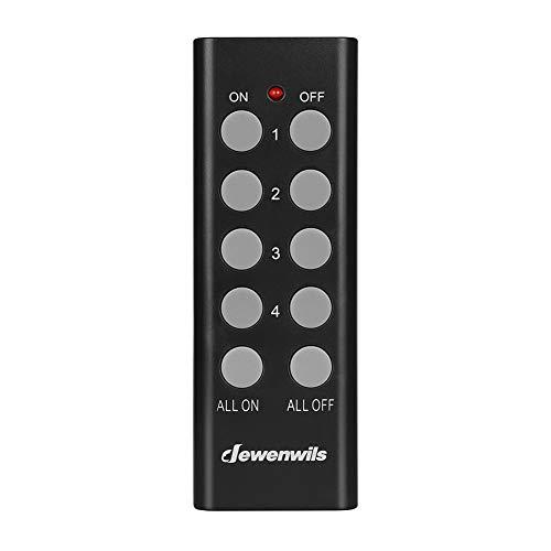 DEWENWILS Mando a distancia para DHORS12A, DHORS13A, DHORS12A, DHORS14A-P2 (1 mando a distancia programable sin enchufe)