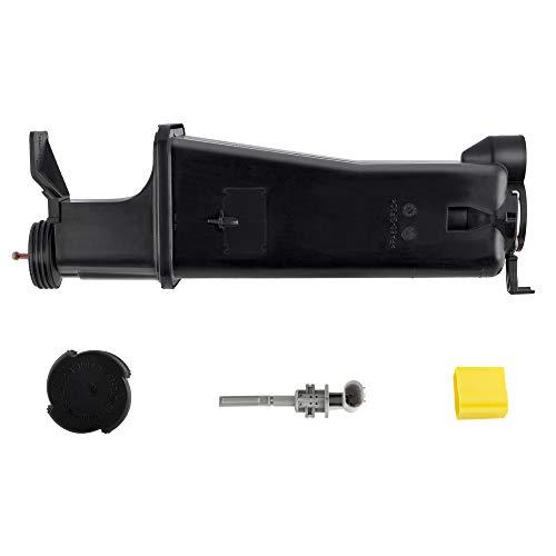 BOXI Radiator Coolant Tank Overflow Expansion Bottle Reservoir With Cap/Sensor For B-M-W E46 / E53 / E83 17117573781