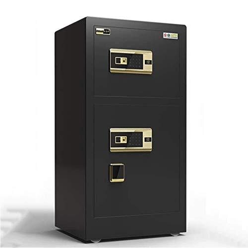 WSMLA Caja fuerte de la caja fuerte de la caja fuerte de la caja fuerte de la puerta doble con la caja fuerte con un bloqueo digital electrónico para la joyería de la pistola de dinero