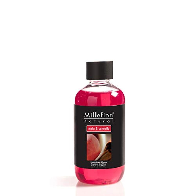 人出くわす風変わりなミッレフィオーリ(Millefiori) Natural メーラ&カネッラ(MELA & CANNELLA) 交換用リフィル250ml [並行輸入品]