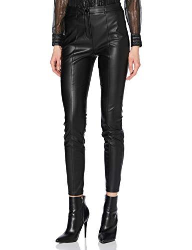 BOSS Femmes C Tratona Pantalon Slim Fit à Taille Haute, en Similicuir