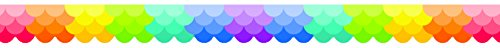 Creative Teaching Press Painted Palette Ombre Scallops Border, Rainbow (Room Displays and Decoration for Classrooms, Learning Spaces and More)