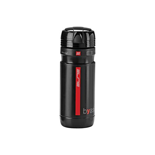 Elite Byasi Porta - Utensilios - Botella de agua, Negro