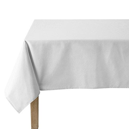 Coucke Nappe Ronde Uni Blanc Coton 235 cm