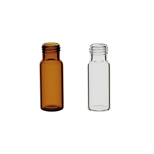 Metria SV02-C20-100 Vial für Chromatografie, Mundstück mit Gewinde, transparent, 2 ml, Kapazität, 11,6 mm D x 32 mm, transparent