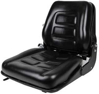 Concentric Back Suspension SEAT,Back Adjust,Forklift,Skid Loader,Dozer,TELEHANDLER #FM