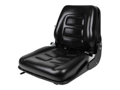 Concentric Back Suspension Seat, Back Adjust, Forklift, Skid Loader, Dozer, Telehandler