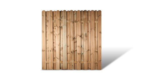 meingartenversand.de Zaunschnäppchen 6 x Holz Gartenzaun Windschutz im Maß 180 x 180 cm (Breite x Höhe) Bochum