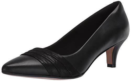 CLARKS Linvale Madie Kitten Heels, Black