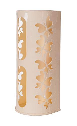 BEROSSI - Soporte para cubos de mosca para bolsas de plástico y más, color marfil