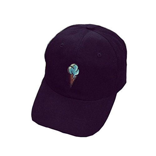 Xinantime Sombrero, Gorra de Béisbol para Gente Joven Sombreros Ajustable Negro