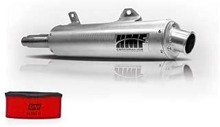 HMF Kawasaki Brute Force 650i IRS 2006-2013 Slip On Exhaust Muffler + UNI Filter