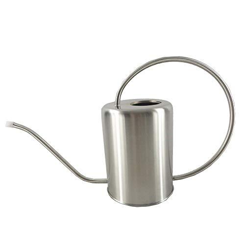 Gieter pot Indoor Office gieter, ultra-dunne Modern Style geborsteld RVS Gieter Pot, 2L House Plant gieter met Comfort Handleds, Lange Tuit, sterk lichaam for In/Outdoor Groene Plant