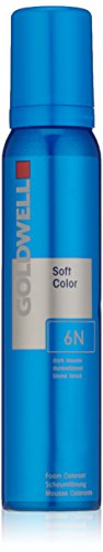 Goldwell Colorance Soft Color Schaumtönung 6N, dunkelblond, 125 ml, 1er Pack, (1x, 125 ml)