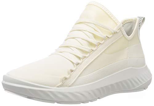 ECCO Damen ST1 Lite W WhiteWhite TextileDroid Sneaker, Weiß (White/White), 41 EU