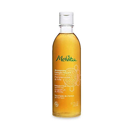 Melvita Frequent Wash Shampoo - Grapefruit&Honey 200ml