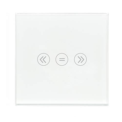 Zemismart Wifi-wandschakelaar, voor rolluiken, werkt via app of stembediening (Alexa, Siri), 110 V-240 V, neutraal noodzakelijk