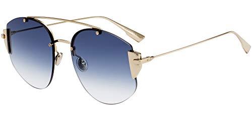 Dior Sonnenbrillen STRONGER GOLD/BLUE SHADED 58/18/145 Damen