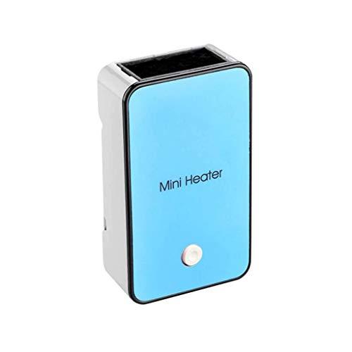 Calentador Mini Calefactor Eléctrico Portátil de Escritorio, Ventilador de Calentador Portátil Portátil Conveniente en casa (220V, 50W) (Color : B)