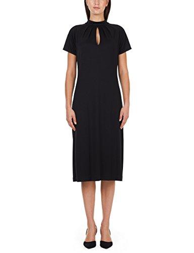Marc Cain Collections Damen JC 21.17 J71 Kleid, Schwarz (Black 900), 40 (Herstellergröße: 4)