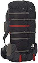 Sierra Designs Flex Capacitor Adjustable 40-60L Volume Ultralight Backpack Pack M/L with S/M Waistbelt Peat