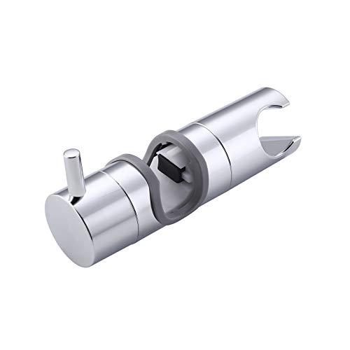 KES Duschkopfhalterung Handbrause Halterung 19-22 mm Duschkopfhalter Duschbrause Halterung Duschkopf Verstellbar Brausehalter Dusche Halter ABS Material Poliert Chrom, PB10S22-CH