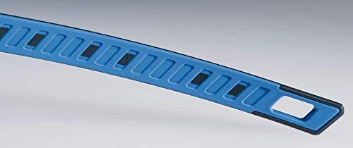 uvex i-Works Schutzbrille – Kratzfeste & Beschlagfreie Arbeitsbrille – 100% UV-400-Schutz – Schwarz/Getönt - 5