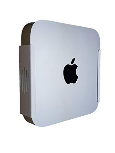 Dynas Halterung für Mac Mini (VESA-kompatibel, zur Befestigung unter dem Schreibtisch, zur Wandmontage, hergestellt in Großbritannien) weiß