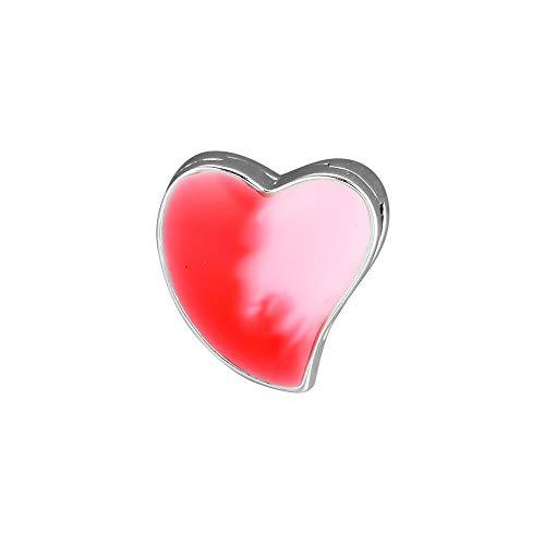 LILANG Pandora 925 Jewelry Bracelet Natural Fits Reflexions Asy Etric Heart of Love Clip Charm Beads para encantos de Plata esterlina Bead Women DIY Gift