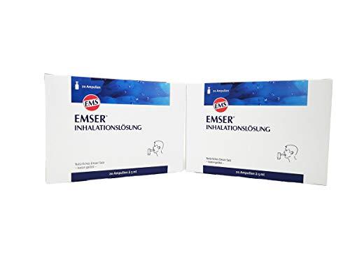 Emser Inhalationslösung ,Spar-Set 2x20 Ampullen