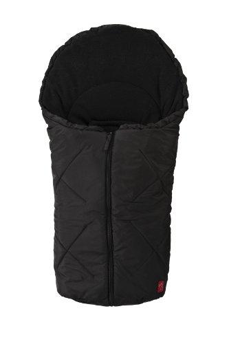 Kaiser 6534725 - Kuschelsäckchen Fleece für Schalensitze der Gruppe O, Farbe: schwarz