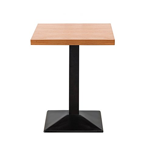 CL Iron Art Table à manger Petit appartement Fashion Retro Faire la vieille table carrée Casual table basse Table de thé Ordinateur Bureau Boutique Boutique Tables de repas Couleur facultative, taille